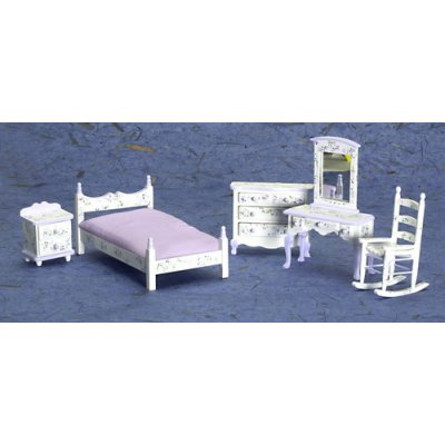 Violet Twin Bedroom Set 5pc