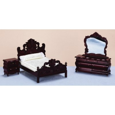 Fancy Bedroom Set 3pc