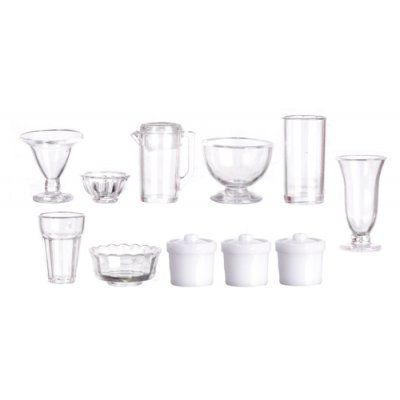 Plastic Kitchenware Set 15pc