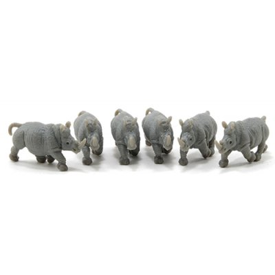 Rhinoceros - 6pc