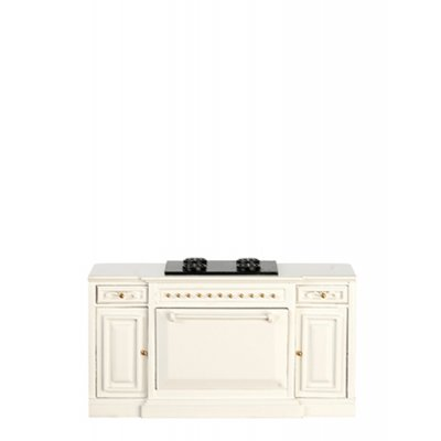 Kitchen Stove - White