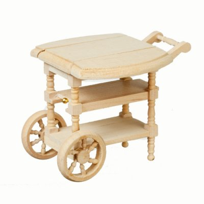 Tea Cart - Unfinished