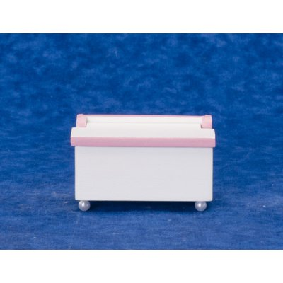 Toy Chest - White & Pink