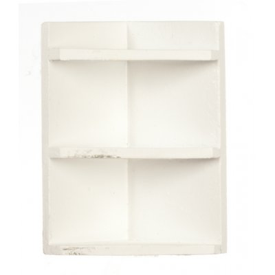 Corner Shelf - White