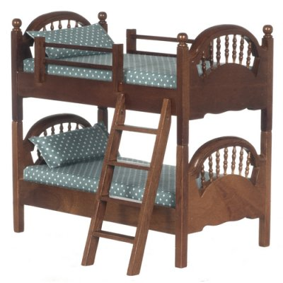 Walnut Spindle Bunk Bed