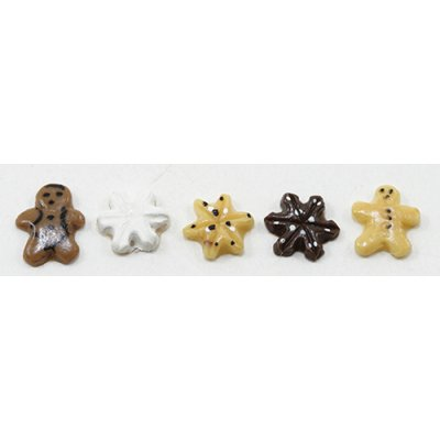 5pc Food for Dollhouse scale miniature