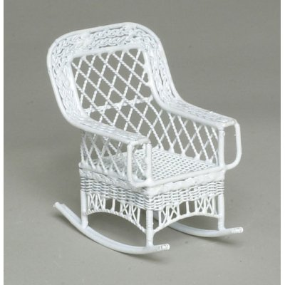 White Bar Harbor Rocker