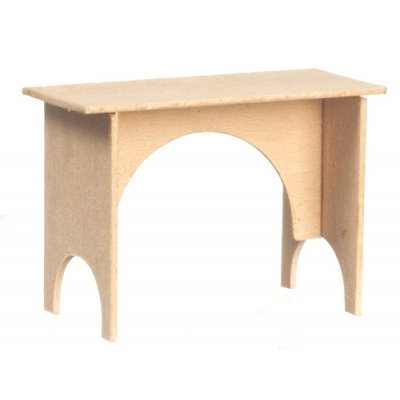 Unfinished Basswood Bench Discontinued