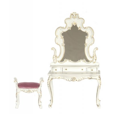 Bourbon Series Dressing Table & Stool