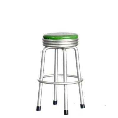 1950s Lime Green Stool
