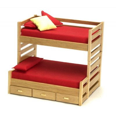 Oak Trundle bed