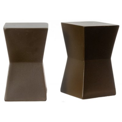 Block Tables 2pc - Brown