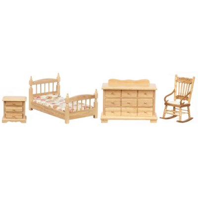 Oak Bedroom Set 4pc