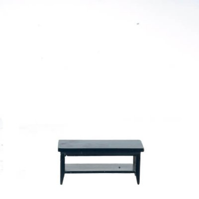 Black Coffee Table - Rectangular