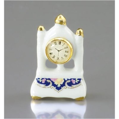 Blue Royal Tall Mantle Clock