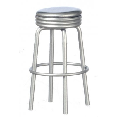 1950s Silver Stool