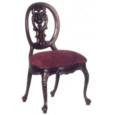 Mahogany Le Pet. Paulinese Side Chair