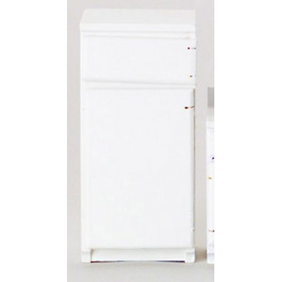 Top & Bottom Refrigerator - White