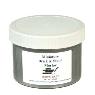 Mini Brick Mortar 16oz - Gray
