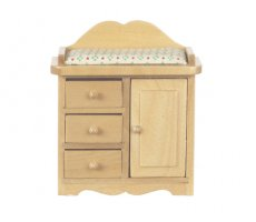 Baby Changing Table   Oak
