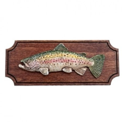 Mounted Trout Wall Plaque