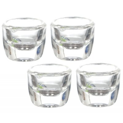 1/2in Scale Clear Small Round Set 4pc