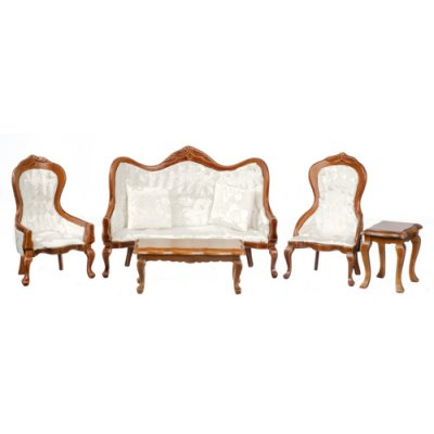 Victorian Living Room Set - 5pc