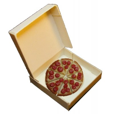 Pepperoni Pizza in Box