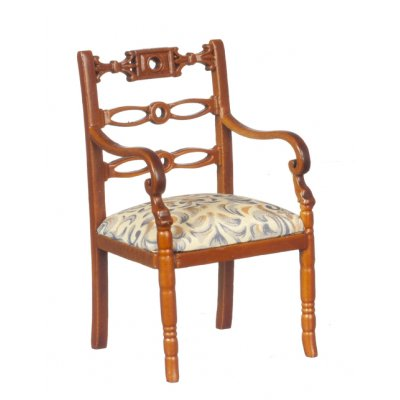 Art Nouveau Armchair - Walnut