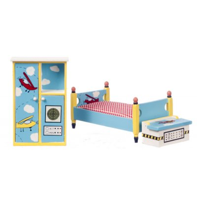 Airplane Bedroom Set 3pc