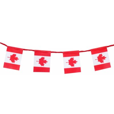 Canadian Flag Garland Discontinued