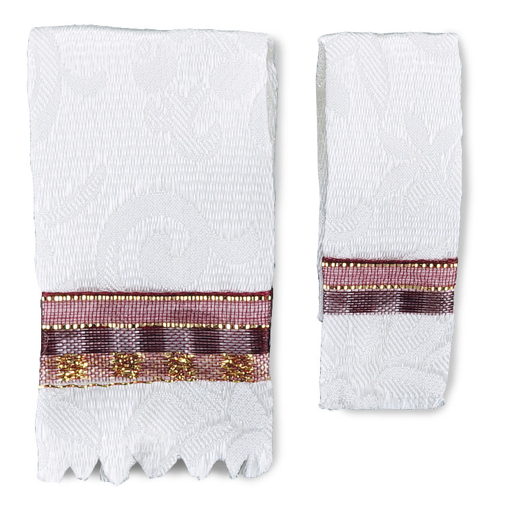 Maroon Bath Towel Set