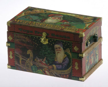 Lithograph Wooden Trunk Kit - Christmas