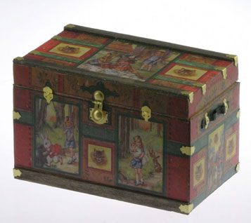 Lithograph Wooden Trunk Kit - Wonderland