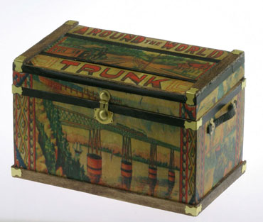 Lithograph Wooden Trunk Kit - Around the World