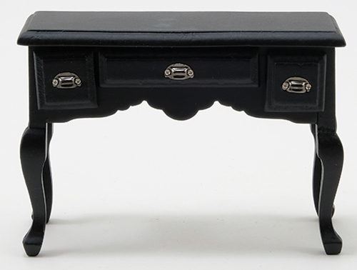 3 Drawer Desk - Black
