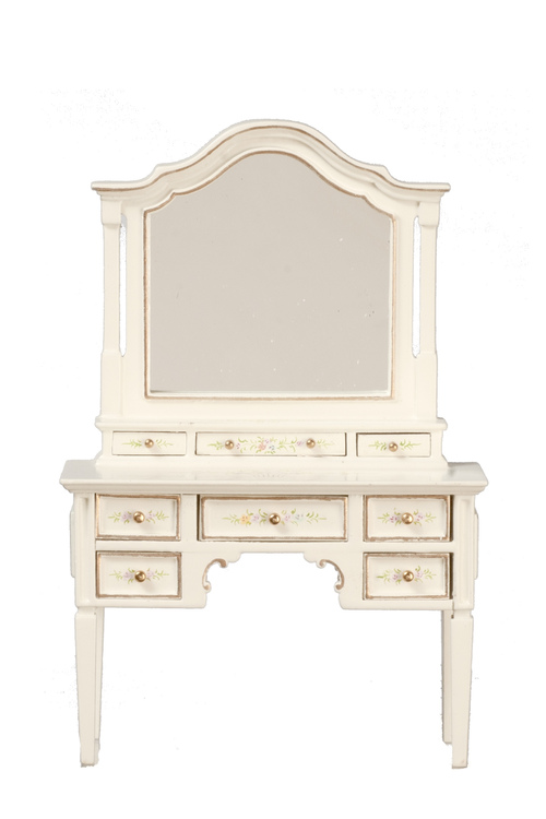 Dressing Table - White Floral