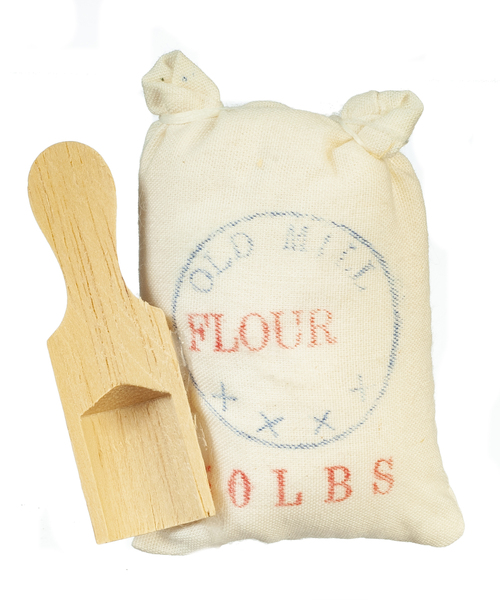 Flour Sack w/ Scoop
