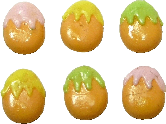 Easter Egg Cookies - 6pc