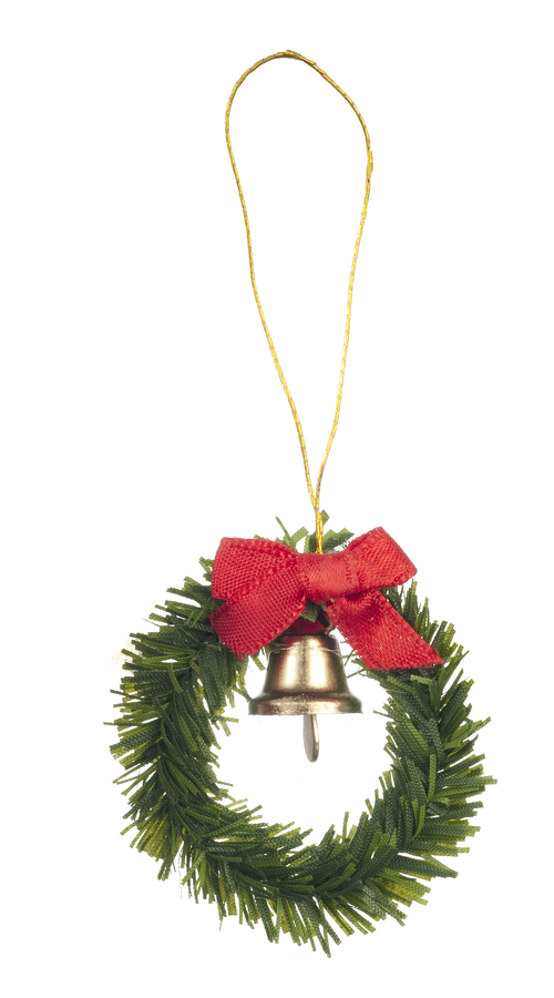 Christmas Wreath w/ Bell