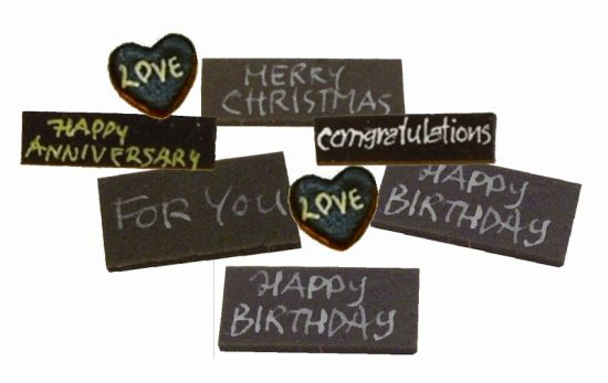 Chocolate Cards - 8pc