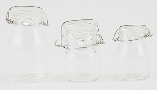 Glass Canister - 3pc