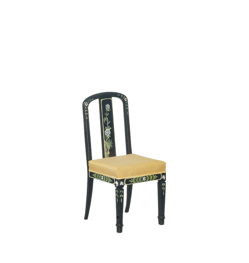 18th Century Chinoise Chair - Black