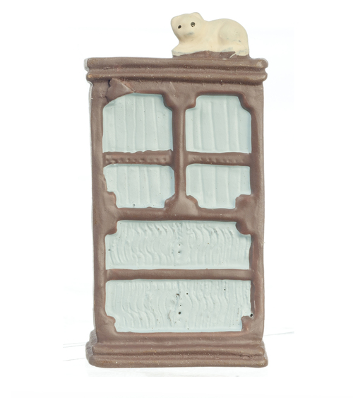 1/4in Scale Chest of Drawers w/ Cat