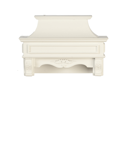 Kitchen Stove Hood - White