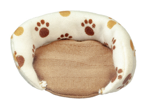Dog Bed w/ Paw Prints - Small