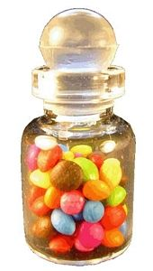 Candied Almonds in Jar