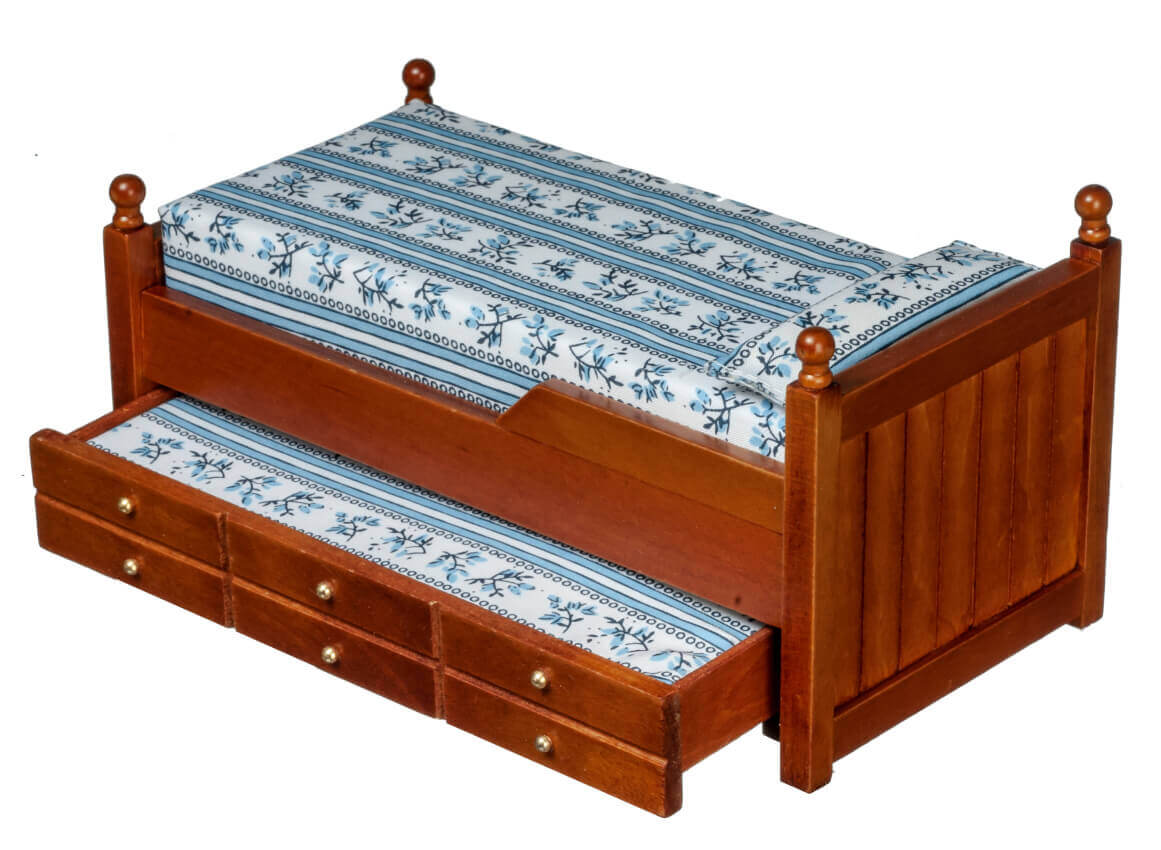 Walnut Trundle Bed