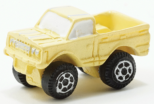 Toy Truck - Yellow