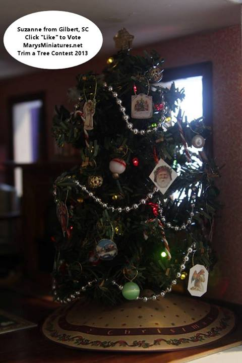 2013 Trim a Tree Contest Winner Suzanne from Gilbert, SC.